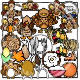 Thanksgiving Clipart MEGA Bundle