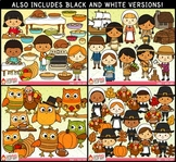 Thanksgiving Clipart Bundle