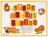 Thanksgiving Clipart/ Free