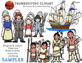 Thanksgiving Clipart - Historically Accurate Clothing - Pi