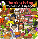 Thanksgiving Clipart  || MOVABLE IMAGES CLIPART