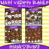 Thanksgiving Clipart - Math Variety Bundle {Jen Hart Clipart}