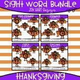 Thanksgiving Clipart - Sight Word Bundle {Jen Hart Clipart}