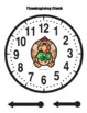 Thanksgiving Clock
