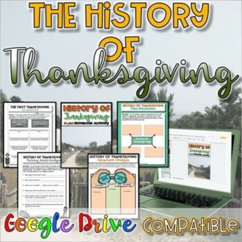History of Thanksgiving {Digital AND Paper}
