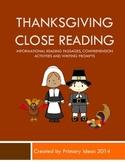 Thanksgiving Close Reading