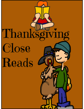 Thanksgiving Close Reads - 5 Day