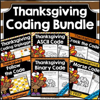 Thanksgiving Coding BUNDLE