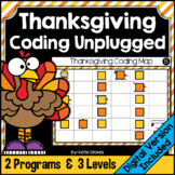 Thanksgiving Coding Unplugged