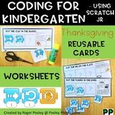 Thanksgiving Coding for Kindergarten, teacher notes, answers