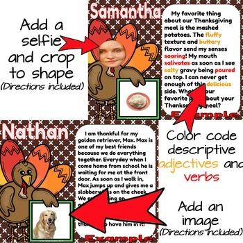 Thanksgiving Collaborative Digital Book in Google Slides™