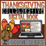 Thanksgiving Collaborative Digital Book in Google Slides™