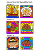 Thanksgiving Color By Addition Facts: Sums up to 10, 15, & 20