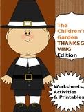 Thanksgiving Color By Number (Pre-k & Kindergarten)