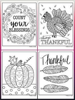 Thanksgiving Activities: Thanksgiving Coloring Pages