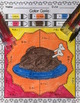 Thanksgiving Color by Code:  Addition and Subtraction