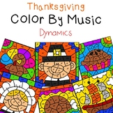 Thanksgiving Color by Music (Dynamics)