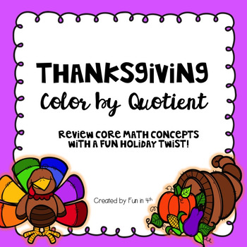 Thanksgiving Color by Quotient