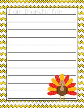 Thanksgiving Activity Pack Sample Set K-1