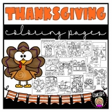 Thanksgiving Coloring Book {Educlips Resources}