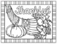 Thanksgiving and Fall Coloring Pages