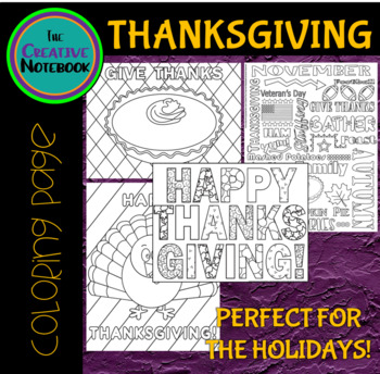 Thanksgiving Coloring Pages | Thanksgiving Activities
