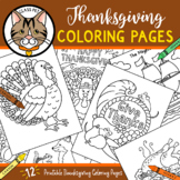 Thanksgiving Coloring Pages for Preschool | Kindergarten | First Grade