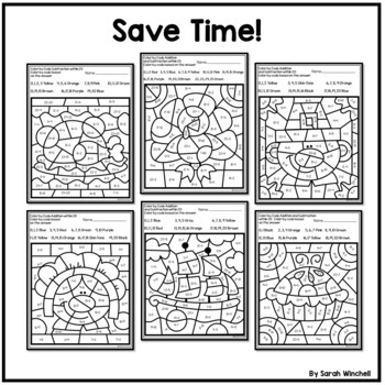 Thanksgiving Activities Coloring Pages Math
