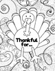 Thanksgiving Coloring Pages (Fall, Leaves, Pumpkin, Turkey)