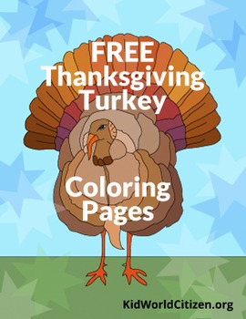 Thanksgiving Coloring Pages: Turkeys!
