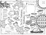 Thanksgiving Placemat FREEBIE