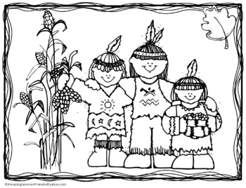Thanksgiving Coloring Sheets