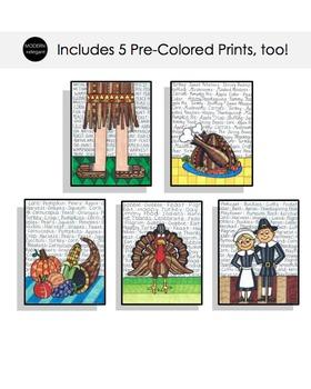 Thanksgiving Coloring Bundle
