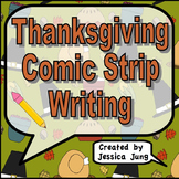 Thanksgiving Comic Strip Writing