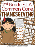 Thanksgiving Activities for 2nd Grade ELA