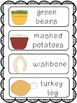 Thanksgiving (Common Core Aligned Literacy and Math Activities)