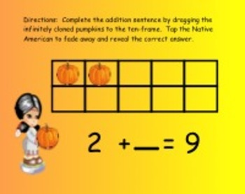Thanksgiving Common Core Aligned Math for the Smart Board