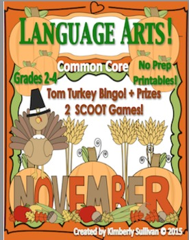 Fall Thanksgiving Activities Games Printables Common Core