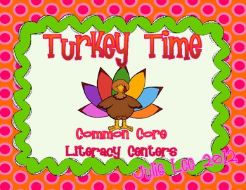 Thanksgiving Common Core Literacy Activities