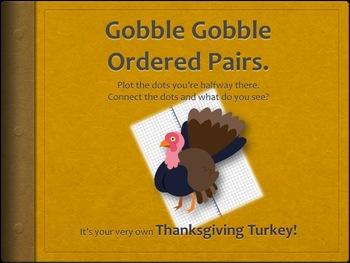 Creative Common Core Math Fun: Create a Thanksgiving Turke