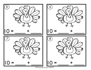 Thanksgiving Common Core Math Lessons and Math Centers