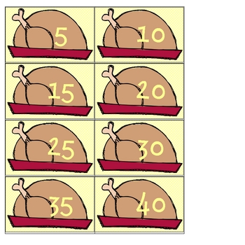 Thanksgiving Common Core Number Mania