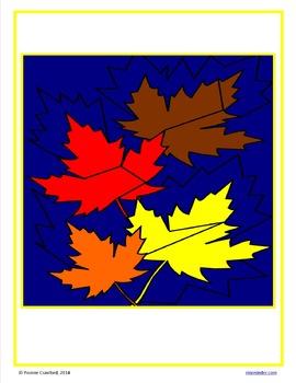 Thanksgiving Color by Number (kindergarten)  Color by Number, Addition & Shapes