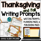 Thanksgiving Writing Prompts : Opinion, Informative, Narrative