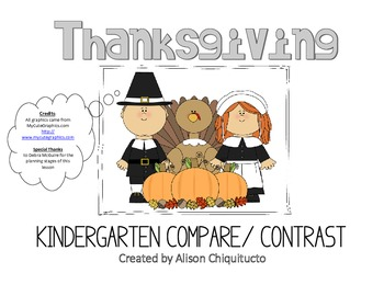 Thanksgiving Compare & Contrast