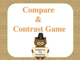 Thanksgiving Compare & Contrast Game