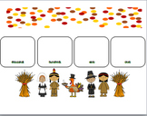 Thanksgiving Comparing 4 Digit Numbers Game