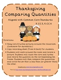 Thanksgiving Comparing Quantities