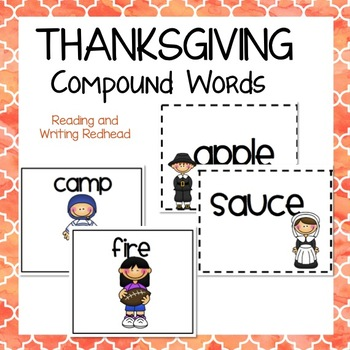 Thanksgiving Compound Word Practice
