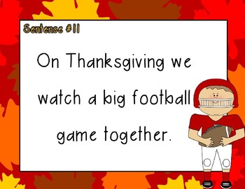 Thanksgiving Compound Words PPT